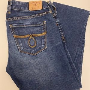 Lucky Brand Lola Straight Jeans 25 long